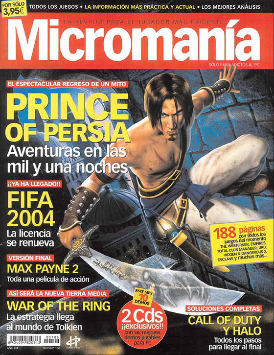 MICROMANIA 106 EP3 NOV 2003