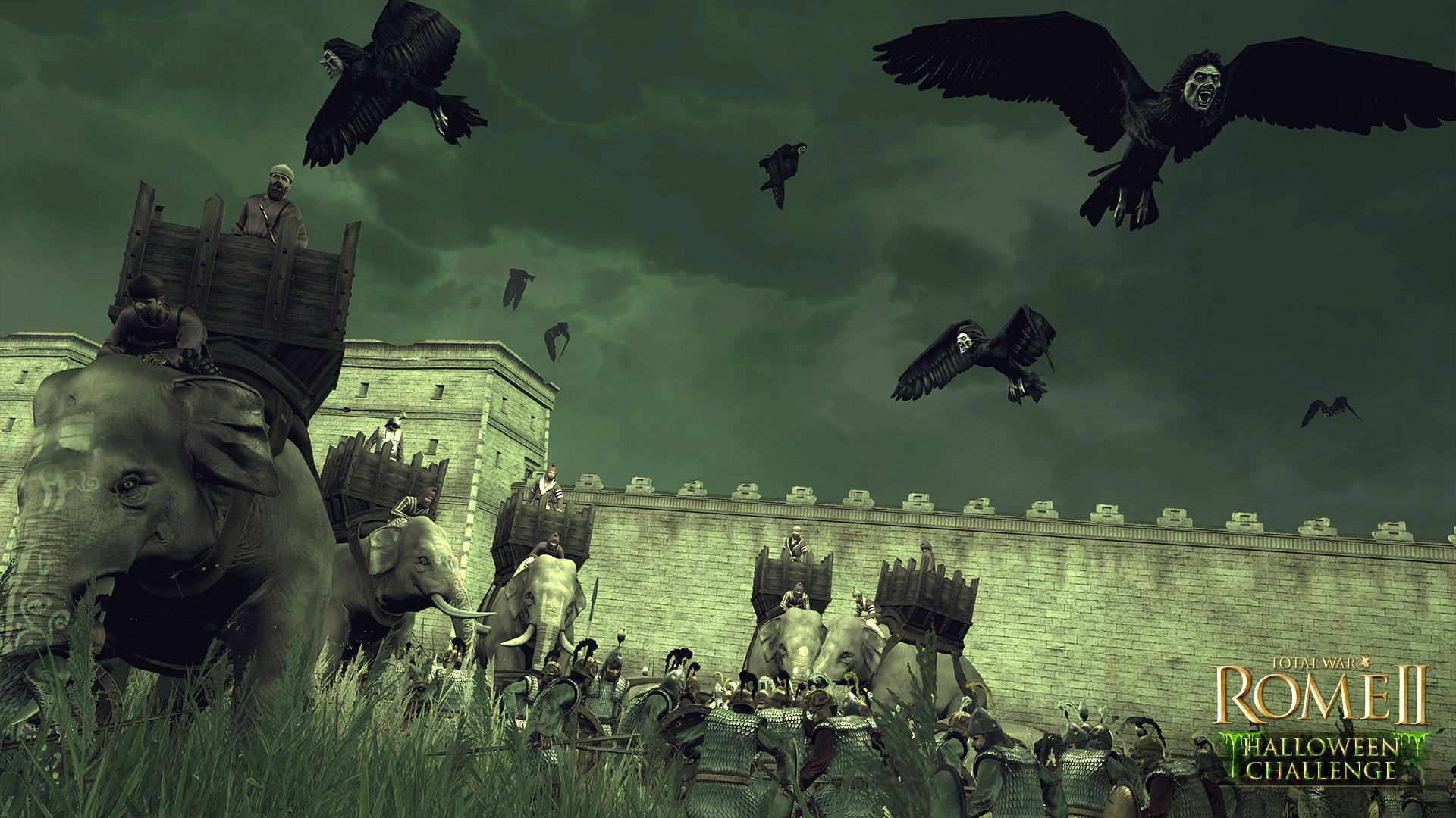 Rome 2 en Halloween