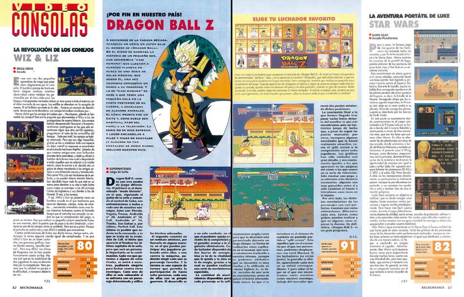 Actualidad - Dragon Ball Z