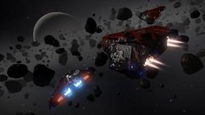 Elite Dangerous - Gamma - Asteroides