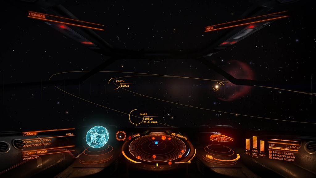 Elite Dangerous - Gamma - Sistema Solar
