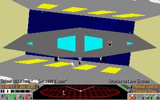 Frontier (Elite II) - Frontier Developments - Amiga, Atari ST, DOS