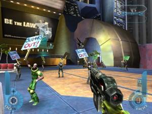 Judge Dredd: Dredd vs Death - Rebellion, Sierra