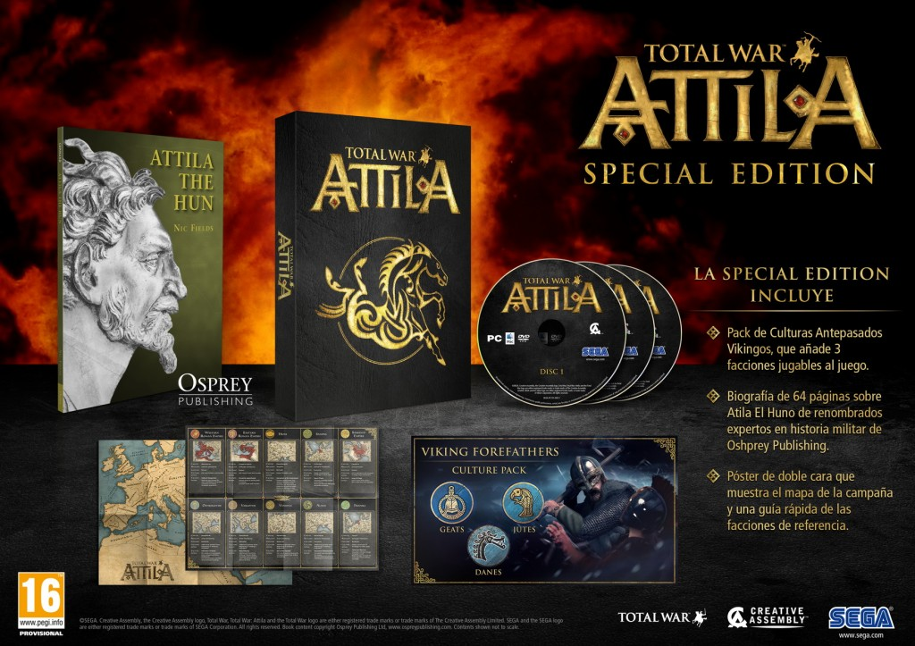Total War Attila - Edición Especial - Creative Assembly, SEGA
