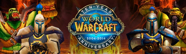 Décimo aniversario de World of Warcraft