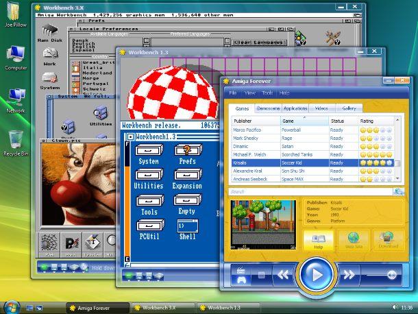 Amiga Forever es lo más sencillo para disfrutar de Amiga hoy.