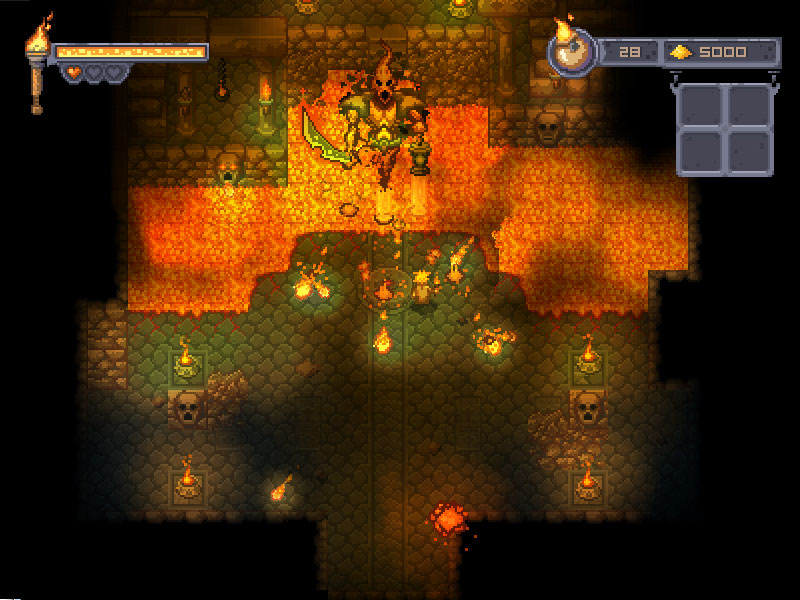 Courier of the Crypts: luces y sombras estilo  indie