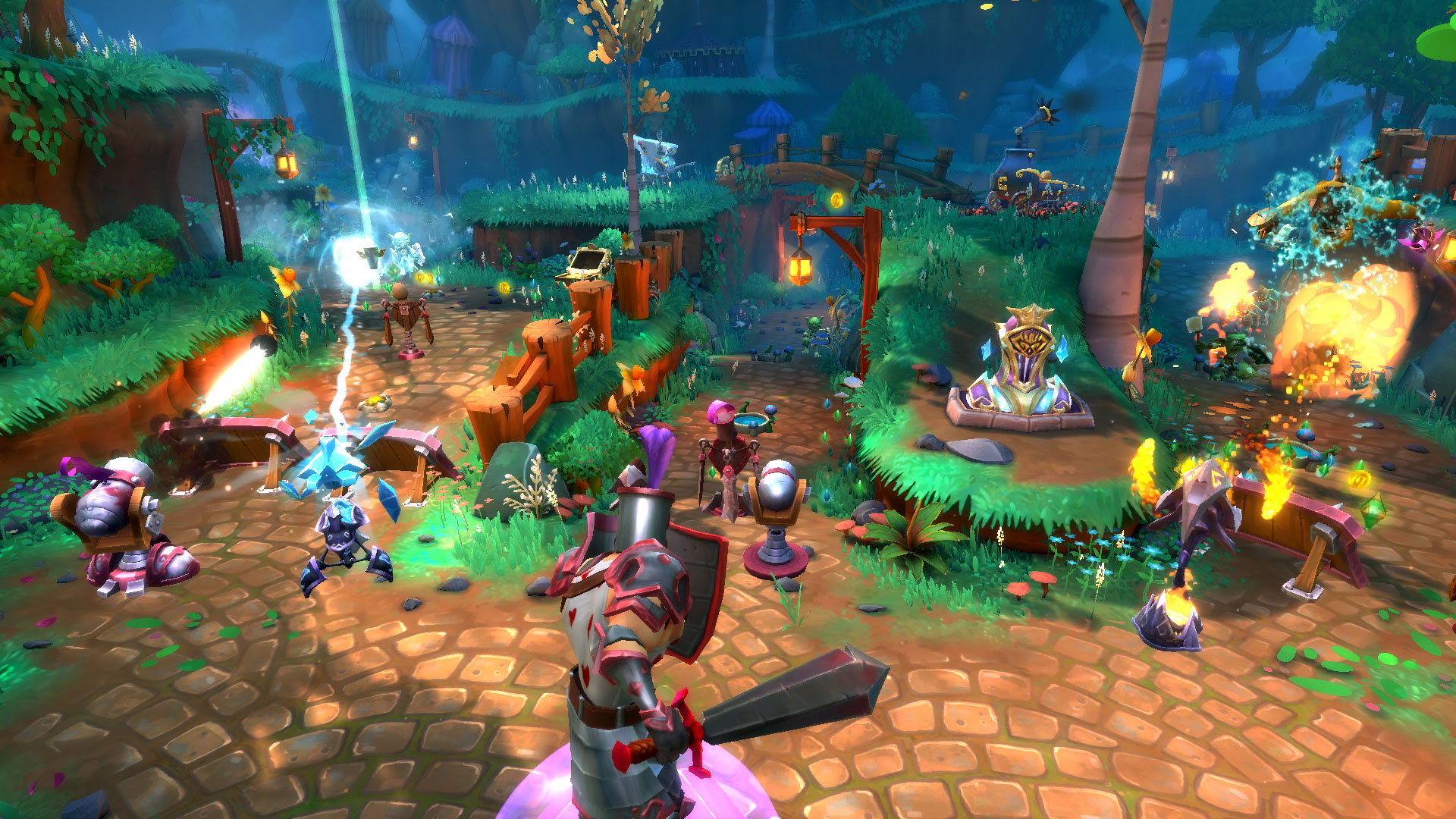 Dungeon Defenders II en acceso anticipado