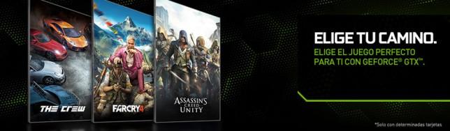 NVIDIA regala juegos de Ubisoft con sus nuevas GeForce GTX
