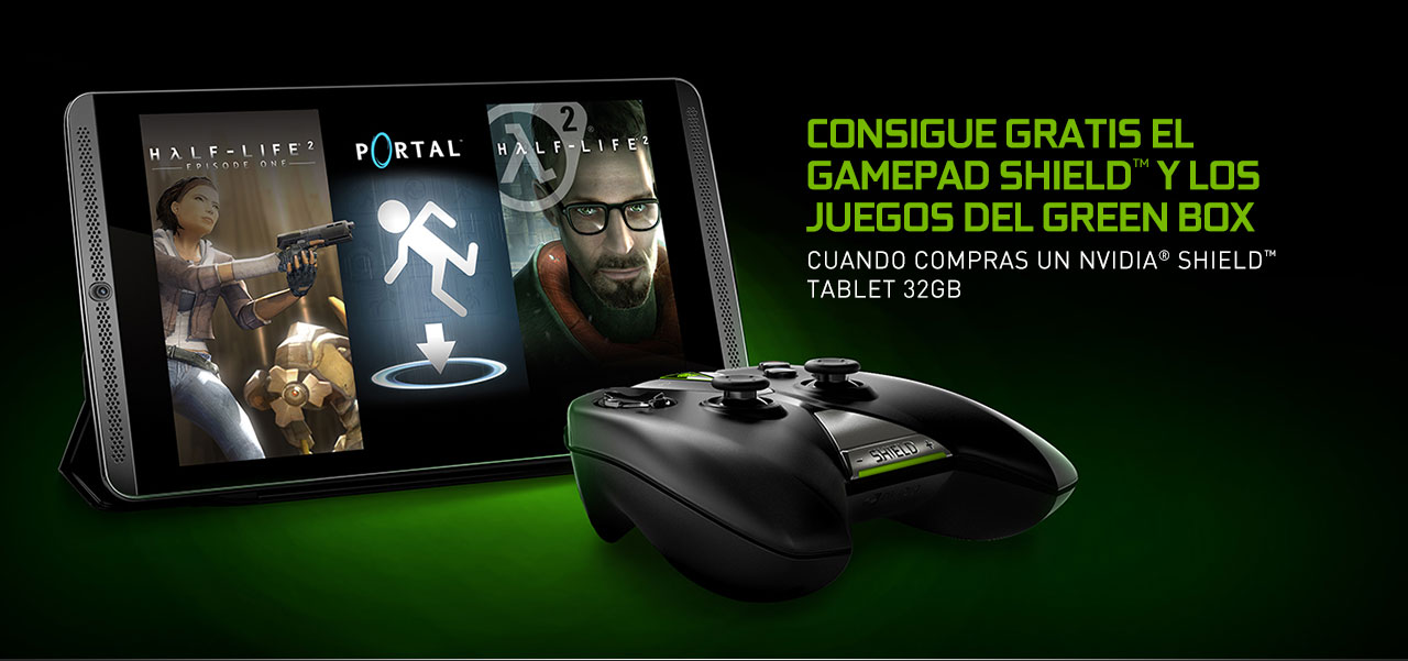 SHIELD Tablet en un pack completo a un gran precio