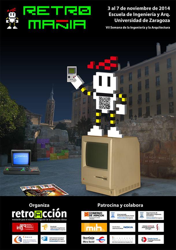 RetroMañía se celebra del 3 al 7 de noviembre en Zaragoza.