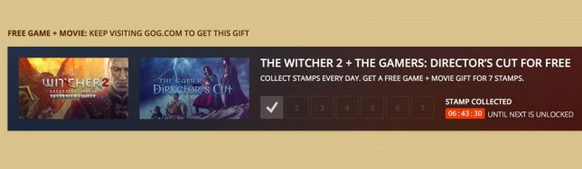 The Witcher 2 de regalo en GOG.com