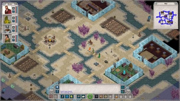Avernum 2 es la segunda edición del juego de rol de Spiderweb.