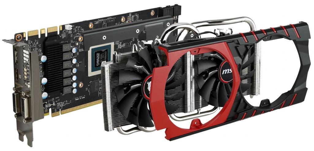 MSI GTX 970 GAMING 4G - Twin Frozr V