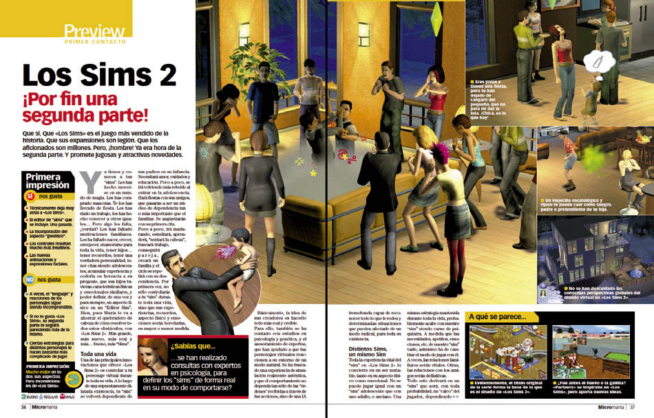 Preview - Los Sims  2