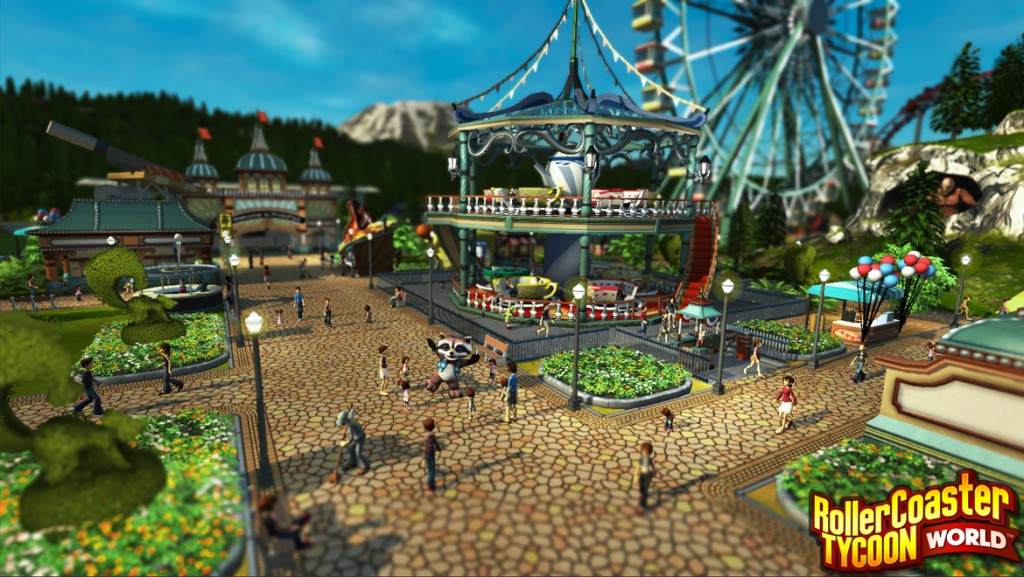 Roller Coaster Tycoon World - Americana