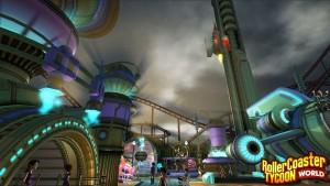 RollerCoaster Tycoon World - Sci-Fi