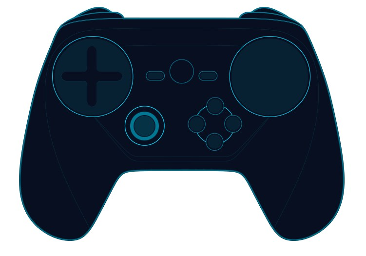 Steam controller cabecera