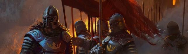 Con cuatro ilustraciones y mucho texto, Avernum construye su propio universo de juego.