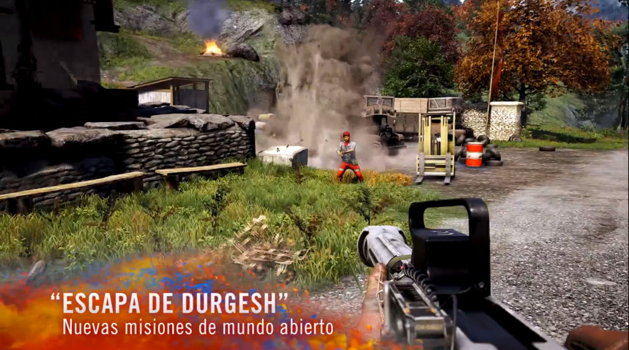 Escapa de la prisión de Durgesh, para Far Cry 4