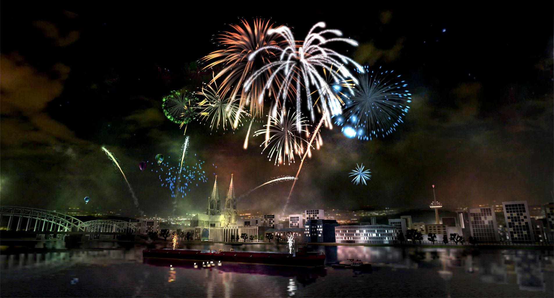 Fireworks Simulator para tu PC