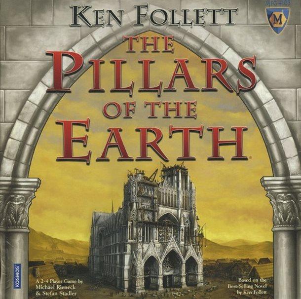 La primera adaptación de Los pilares de la tierra fue este juego de tablero alemán.