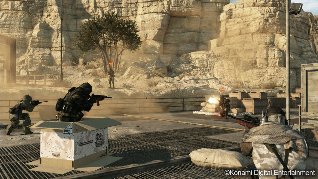 MGSV The Phantom Pain - Metal Gear Online