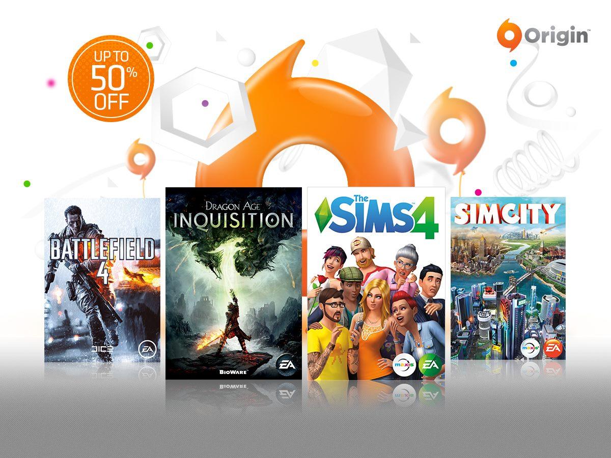 Las rebajas de fin de año de Origin bajan un poquito el precio de lanzamientos recientes y de algunos clásicos.