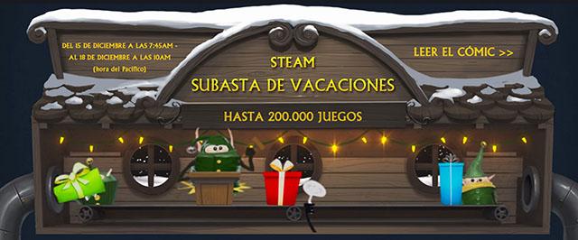 Subasta de Vacaciones de Steam