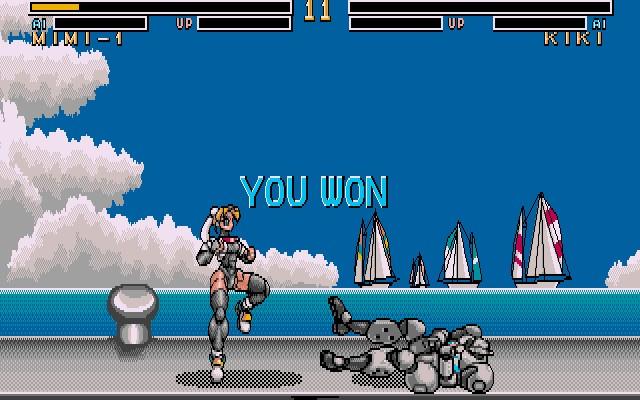 Metal & Lace: The Battle of the Robo Babes - Megatech -DOS