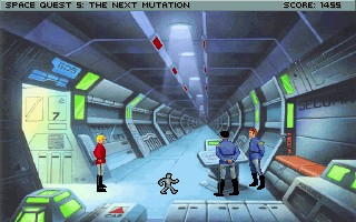 Space Quest V - Dynamix, Sierra  - DOS