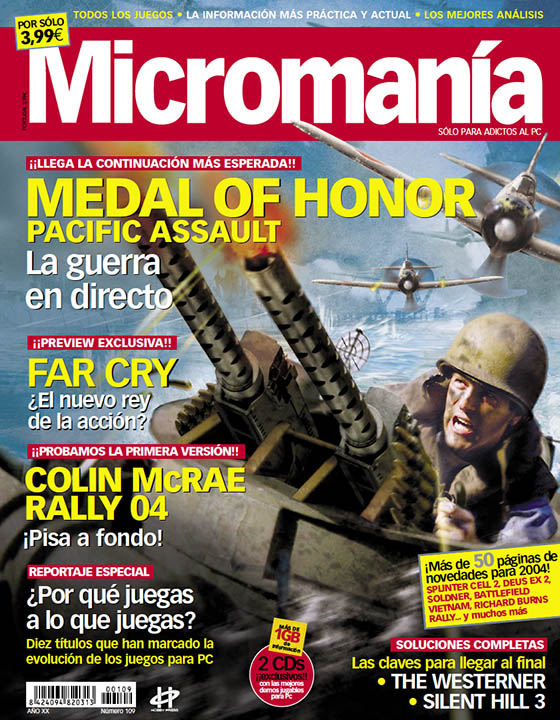 MICROMANIA 109 EPOCA III, FEB 2004