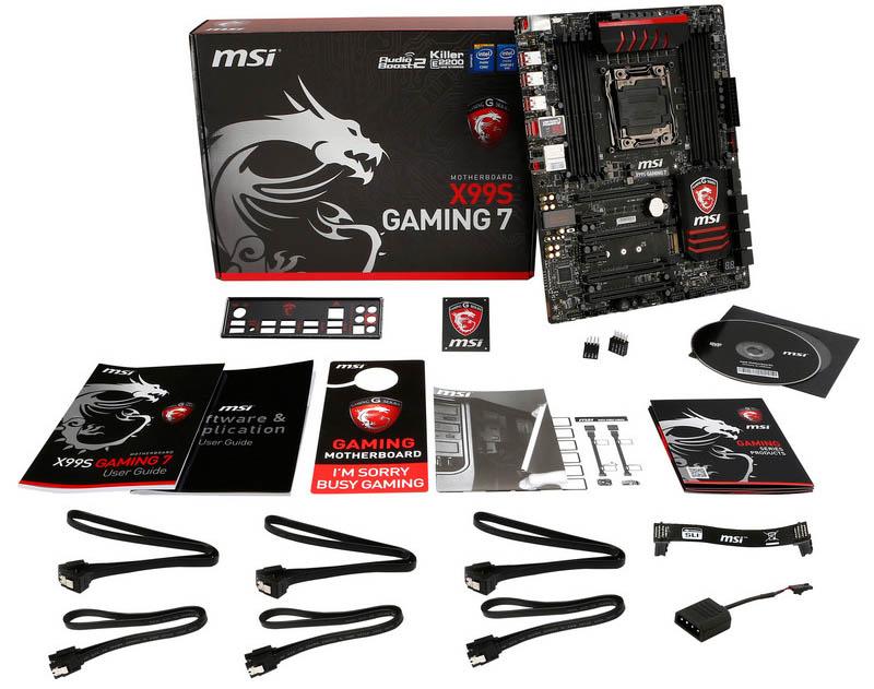 MSI X99S GAMING 7 - Contenido