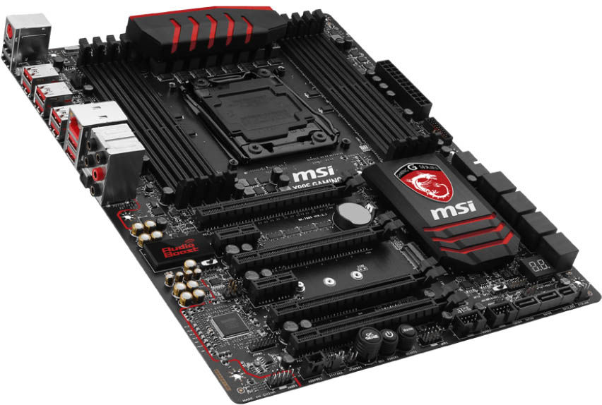 MSI X99S GAMING 7 - Perspectiva