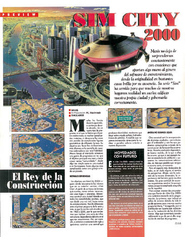 Preview Sim City 2000
