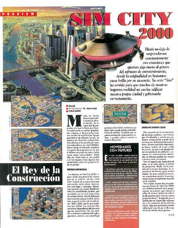 Preview Sim City 2000