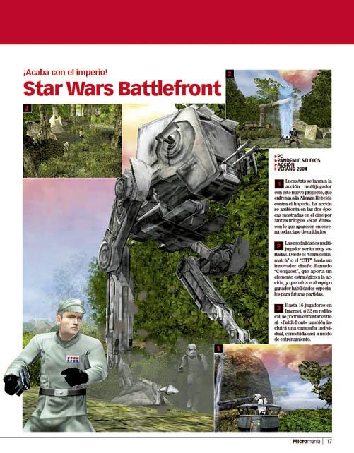 Star Wars Battlefront - Pantallas MICROMANIA 109