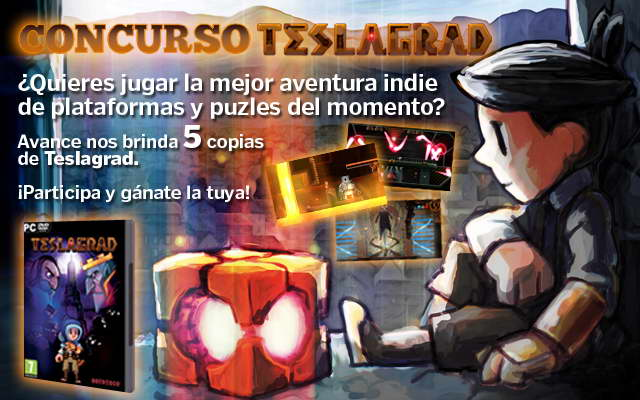 Teslagrad - CONCURSO micromania.es