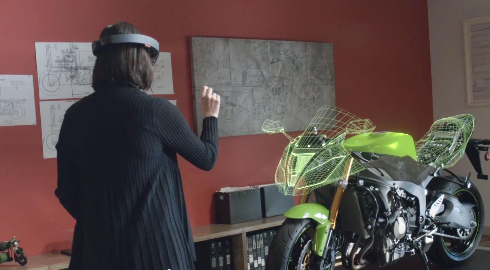 Las Hololens crean un entorno de realidad aumentada