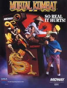 Mortal Kombat - publicidad