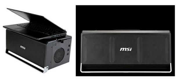 MSI GS30 Shadow permite conectar una GPU externa.