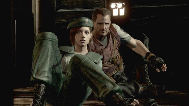 Resident Evil HD remasterizado. ¡Mola!