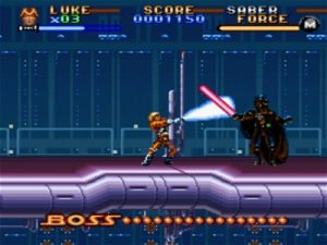 Super Star Wars: The Empire Strikes Back - LucasArts - SNES