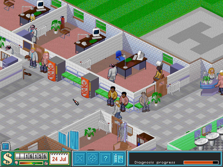 Theme Hospital gratis en Origin