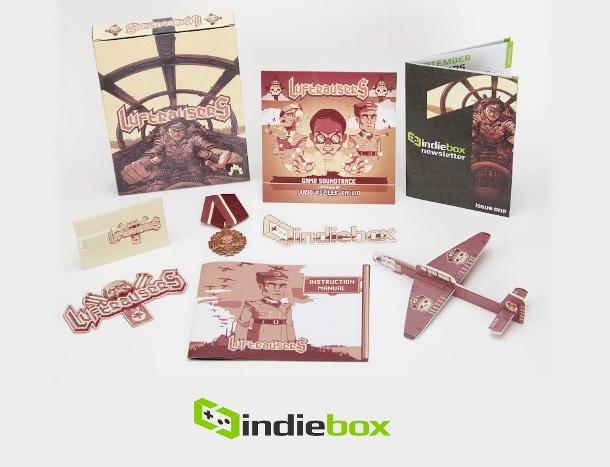 IndieBox sigue dándole cajas de lujo a los aficionados a los juegos indies.