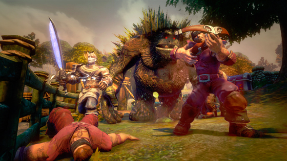 Fable Legends será Free2Play en Windows 10 y Xbox One.
