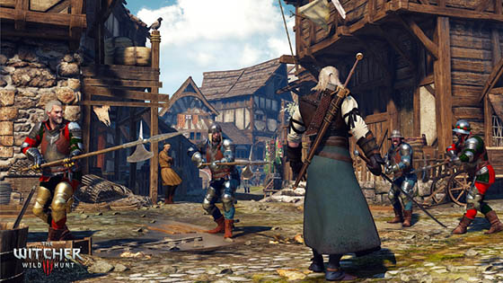 Mod para el combate de The Witcher 3