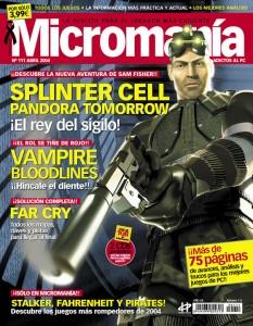 MICROMANIA 111 EP3 ABRIL 2004
