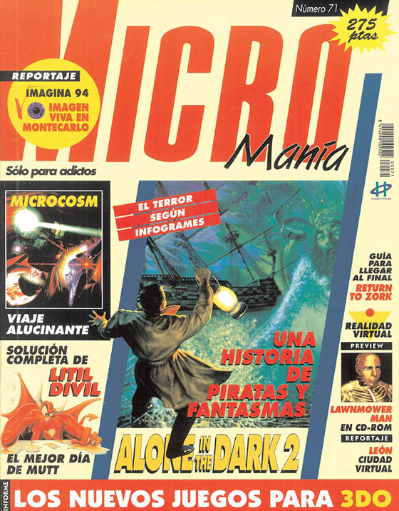 Micromania 71 2EP ABRIL 1994
