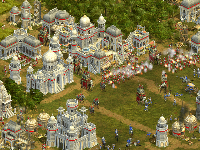 Rise of Nations - Thrones & Patriots - Big Huge Games - Microsoft - Windows